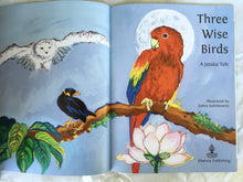Load image into Gallery viewer, Children's Story Book: Three Wise Birds - title page
