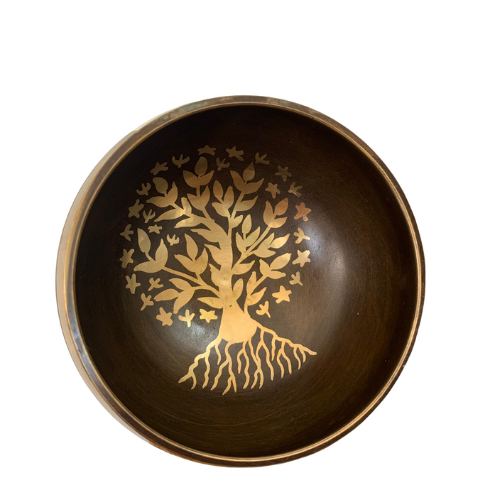 Tree of Life Singing Bowl