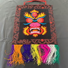 Load image into Gallery viewer, Wall hanging Mahakala black top