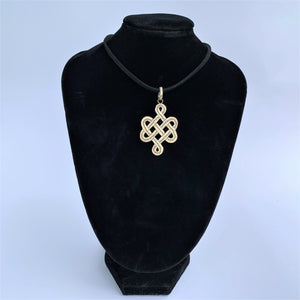 Pendant Endless Knot on bust