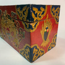 Load image into Gallery viewer, Tibetan Treasure Box Double Dorje Red