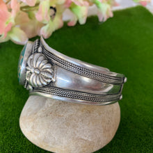 Load image into Gallery viewer, Lotus Cuff Bracelet