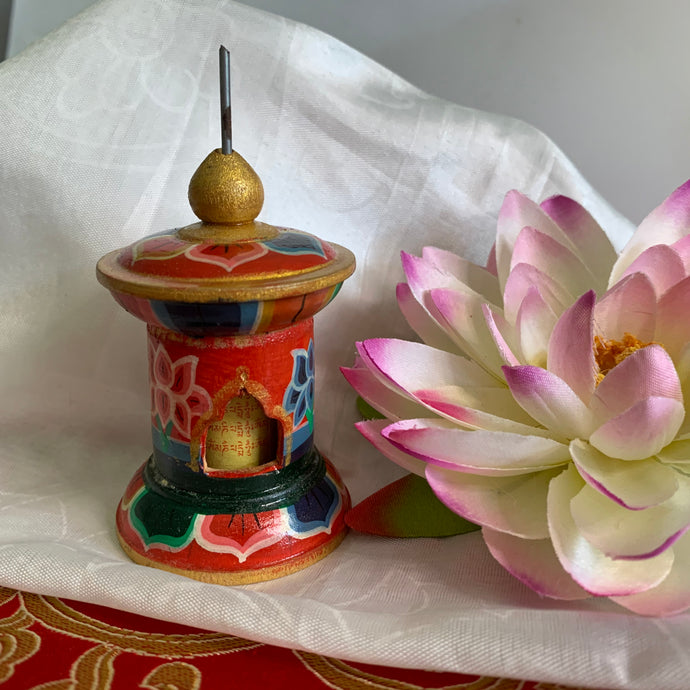 Standing Prayer Wheel - Small