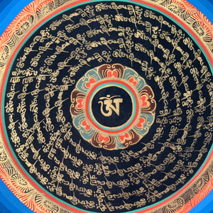 OM Compassion Thangka