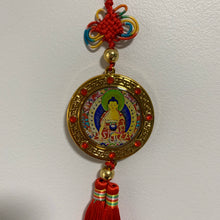 Load image into Gallery viewer, Buddha Hanger - Red Tassel