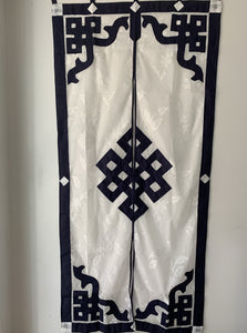 Door Curtain ~ Split - Lacy Endless Knot