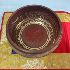 Singing Bowl - Maroon