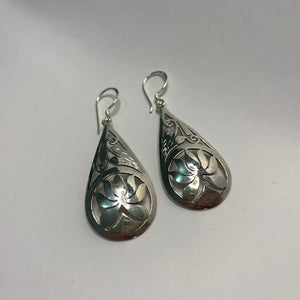 Tear drop Lotus Earrings