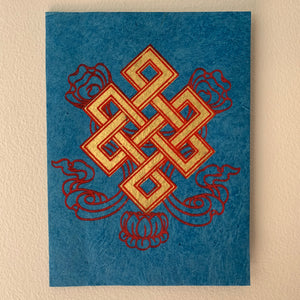 Endless Knot Greeting Cards