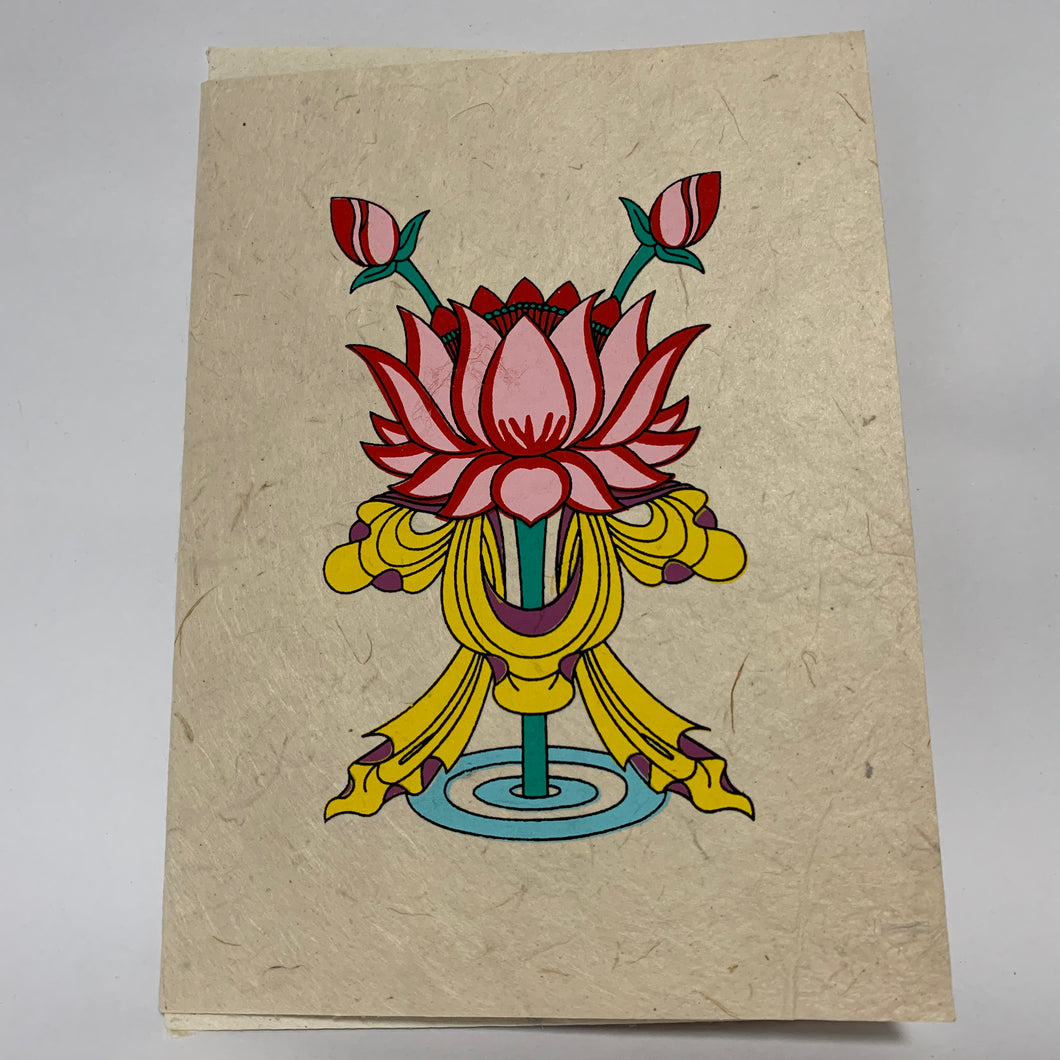 Greeting Card - Lotus