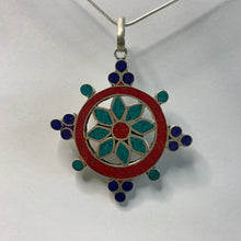 Load image into Gallery viewer, Flower Wheel Pendant