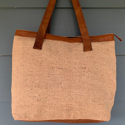 Tote Bag - Hemp Bucket bag