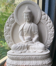 Load image into Gallery viewer, Plaster Buddha Statue - Handmade by Jen