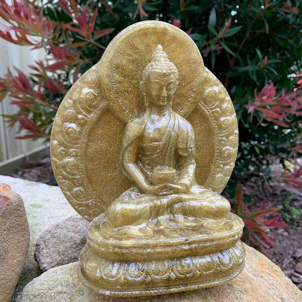 Meditating Buddha - Handmade by Jen Collection