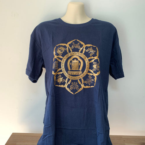 Kalachakra & Eight Auspicious Symbols T-Shirt
