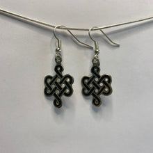 Load image into Gallery viewer, Endless Knot Earrings