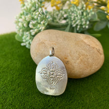 Load image into Gallery viewer, Green Tara Silver Pendant