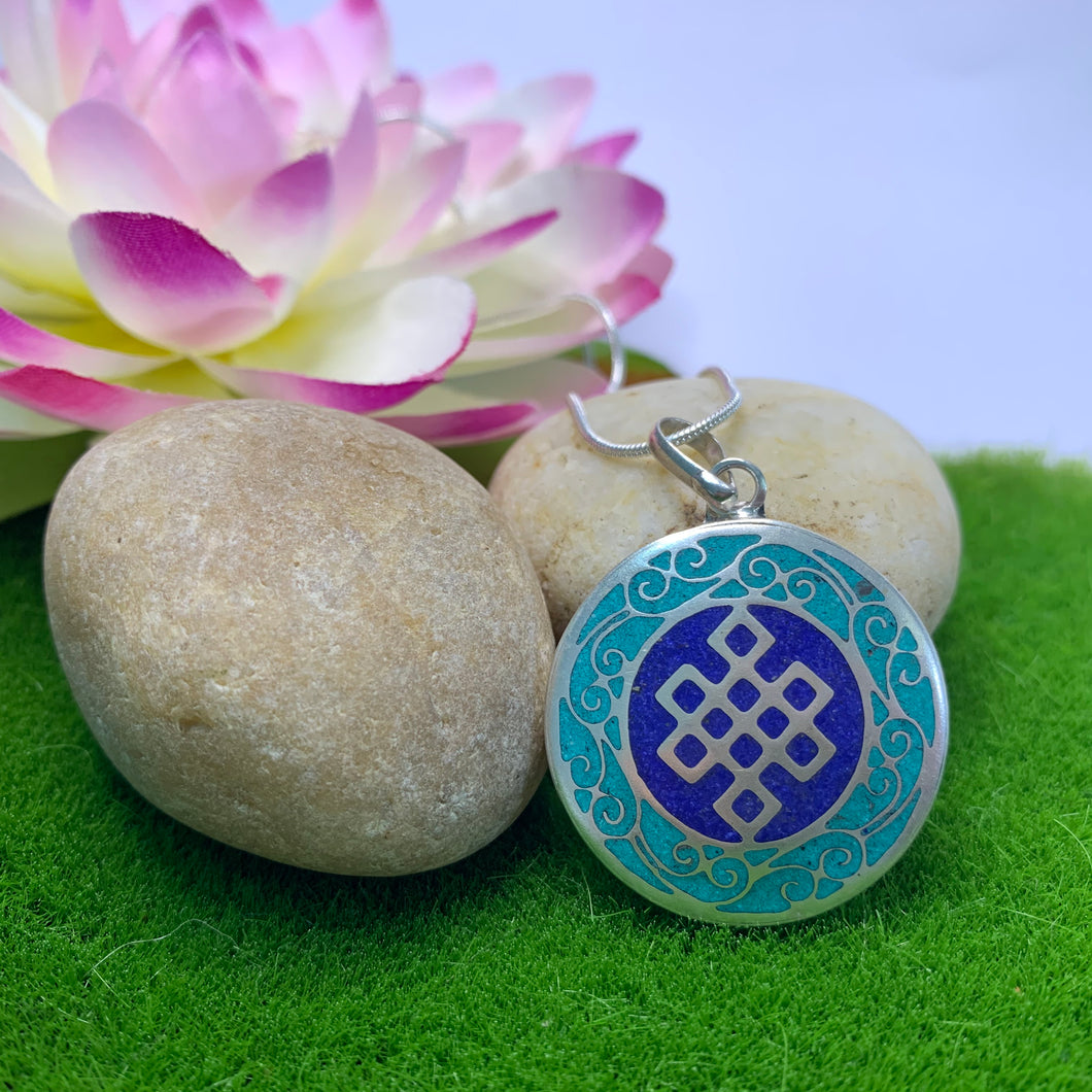Round Endless Knot Pendant