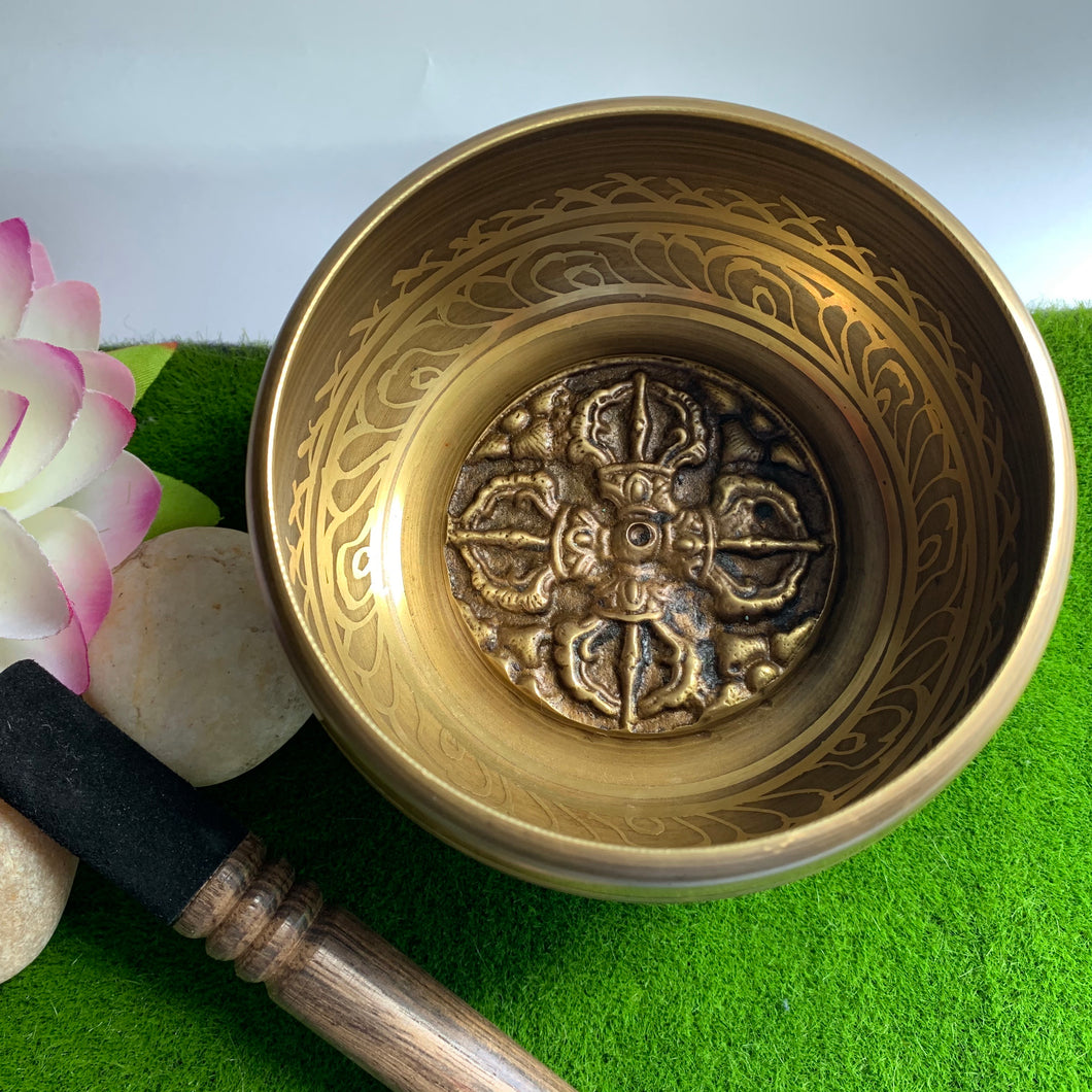 Double Dorje Singing Bowl
