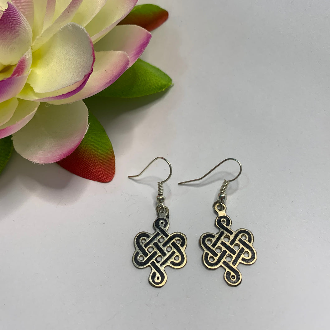 Endless Knot Earrings