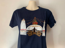 Load image into Gallery viewer, Boudhanath Stupa & Vajra T-Shirt