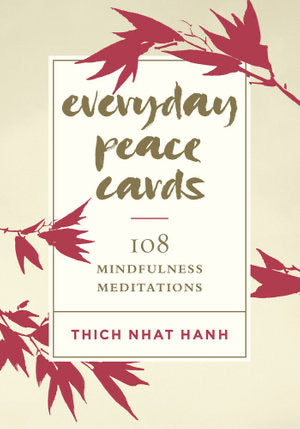 Everyday Peace Cards - 108 Mindfulness Meditations