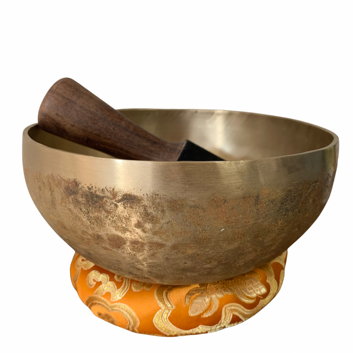 Antique-like Hand Hammered Singing Bowl