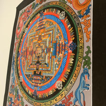 Load image into Gallery viewer, Kalachakra Mandala Thangka