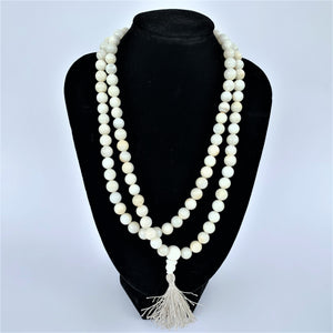 Naga/Conch Shell 108 Prayer Beads (Mala)