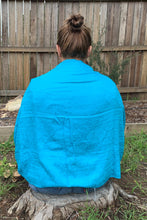 Load image into Gallery viewer, shawl pashmina blue example