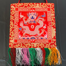 Load image into Gallery viewer, wall hanging red dragon top