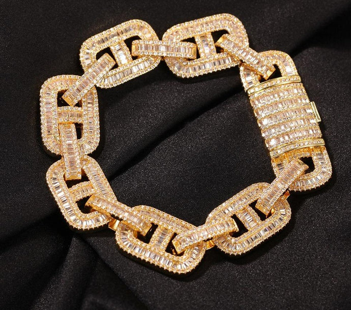 15mm Miami Cuban Link Armband