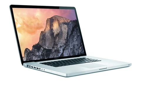 "Apple MacBook Pro Core 2 Duo 2.8GHz, 17"" Screen, 4Gb Ram, 500Gb HDD, Grade A (2010)"