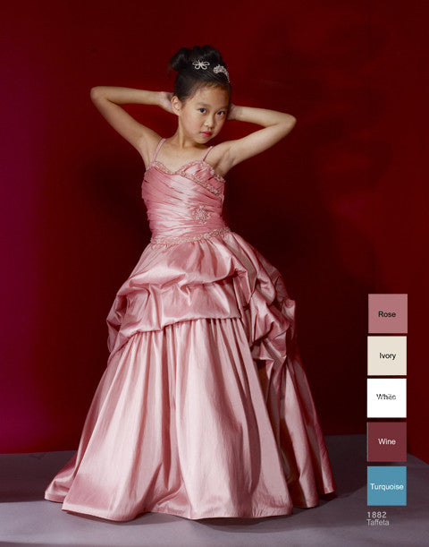 Macis Design #1882 Flower Girl and Pageant Dress