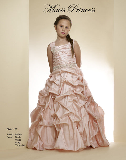Macis Design #1891 Flower Girl and Pageant Dress