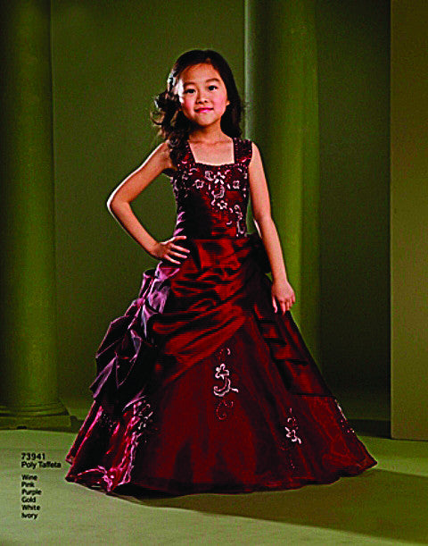 Macis Design #73941 Flower Girl and Pageant Dress