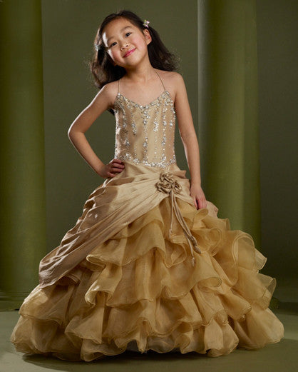 Macis Design #73945 Flower Girl Dress
