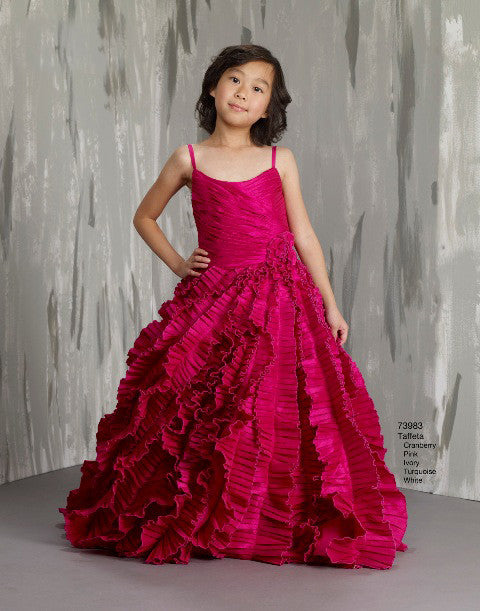 Macis Design #73983 Flower Girl and Pageant Dress