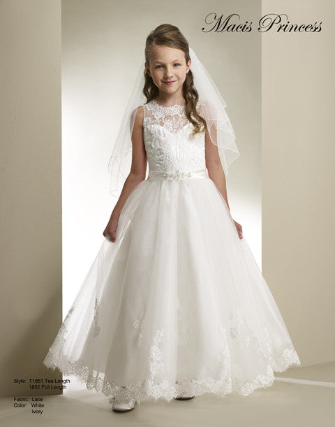 8a4114e9f62 Macis Design Communion Flower Girl dress  T1851 – Kiki s Kollection