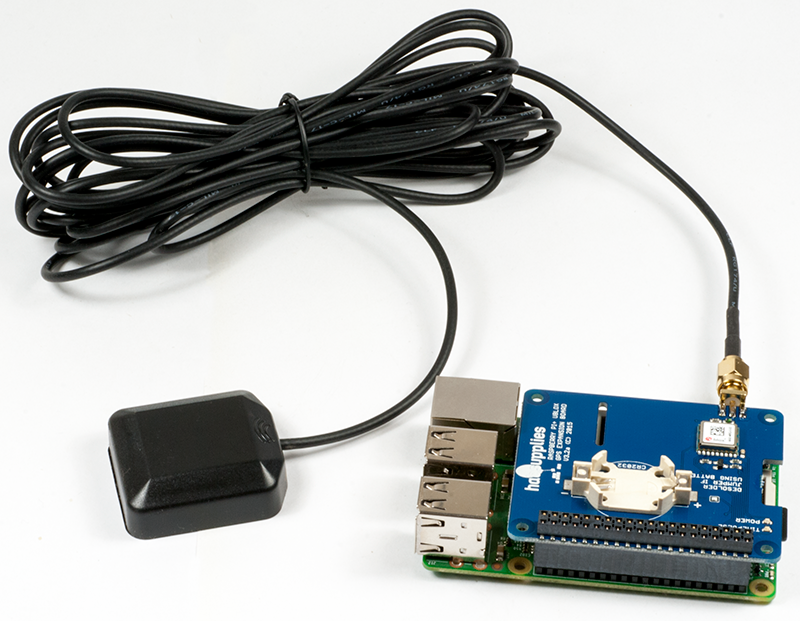 Raspberry Pi GPS HAT and Python