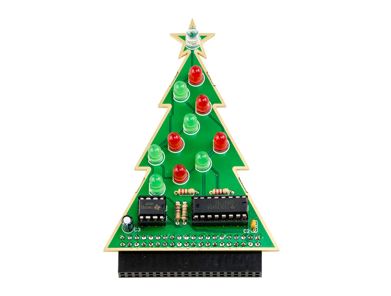 Christmas Tree Solder Guide