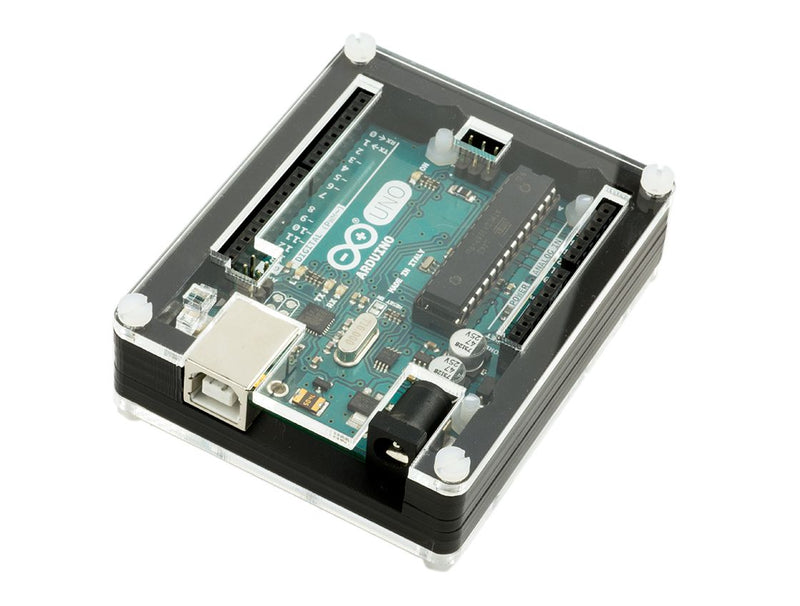Genuino Uno Zebra Case Assembly Instructions