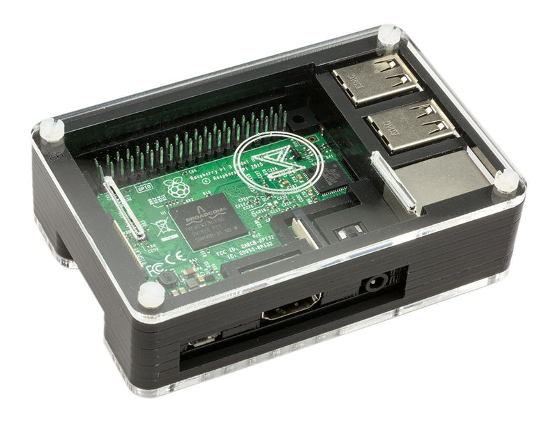 Official OSMC Raspberry Pi Case Assembly Instructions