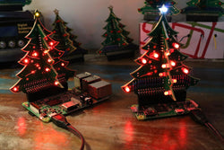 3D Xmas Tree for Raspberry Pi Assembly Instructions