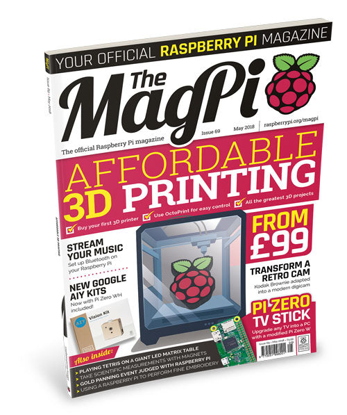 Raspberry Pi Roundup - a new issue of the MagPi, an upgrade to Etcher and a multi-touch skin device