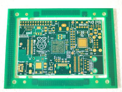 Raspberry Pi PCB First Look