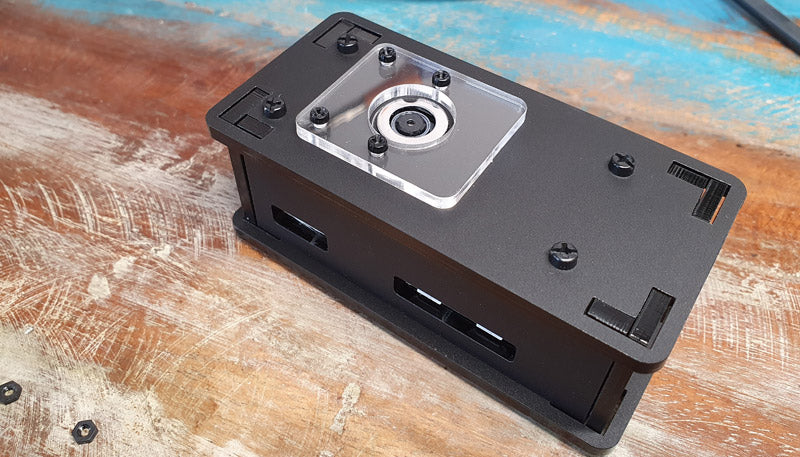 Raspberry Pi Zero Camera Case Assembly Instructions