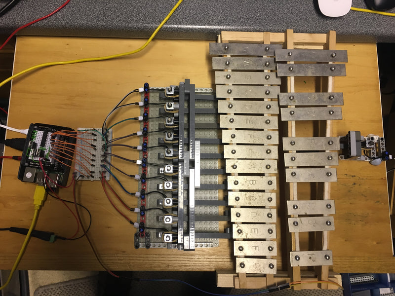 Raspberry Pi Roundup - a Sonic Pi-controlled glockenspiel, a fleet monitoring device and a satellite station model