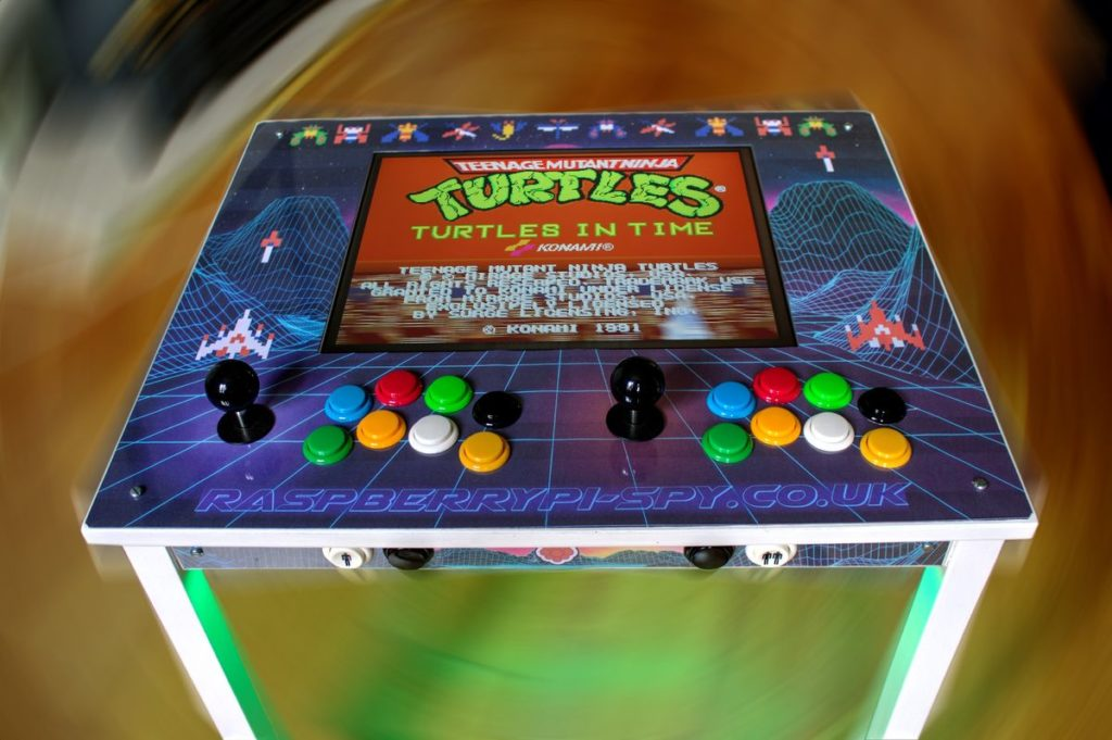 Raspberry Pi Roundup - a retro gaming IKEA table, a Santa Detector and a tea-making robot