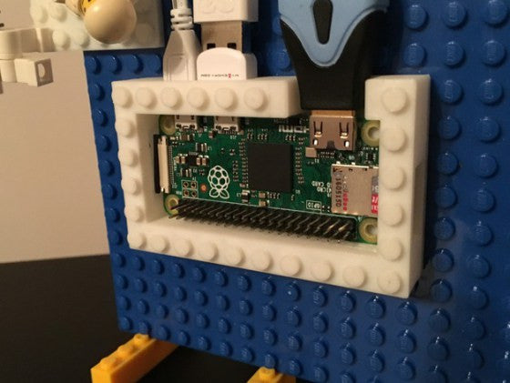 A LEGO case for the Raspberry Pi Zero and two Google Cloud projects in today's Raspberry Pi Roundup